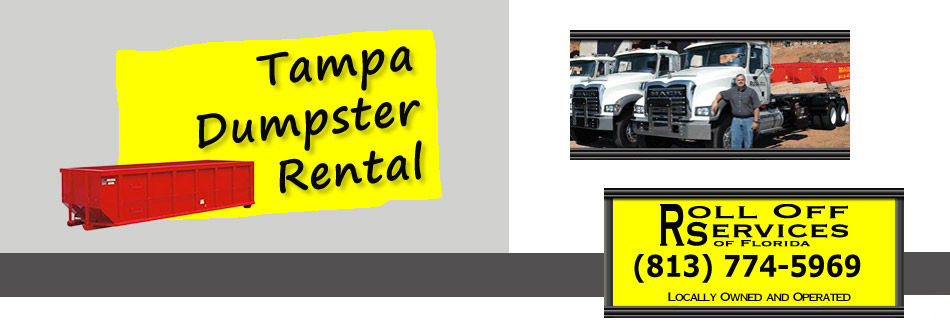 header for Tampa dumpster rental